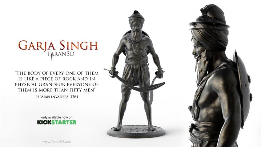 Garja Singh Statue Kickstarter Project