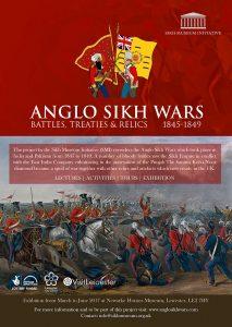Anglo Sikh Wars Leaflet Design