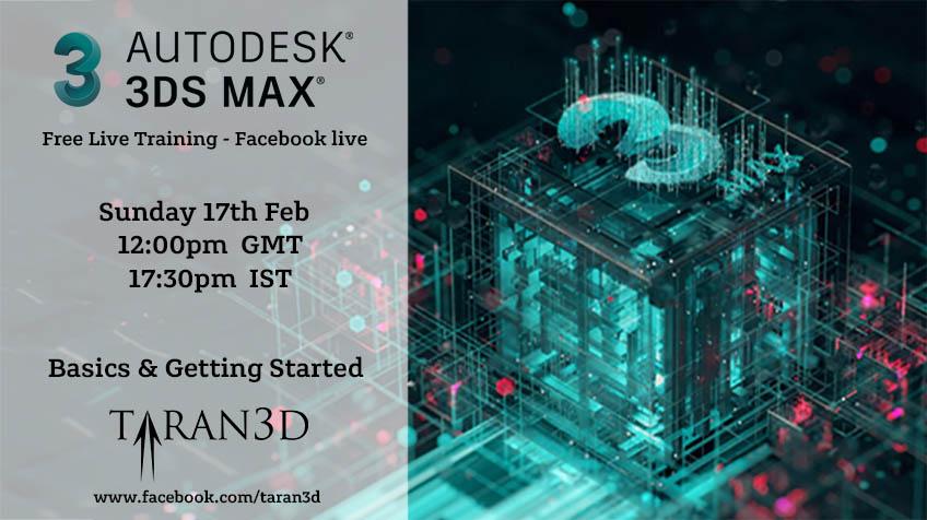 3D Studio Max Live Training
